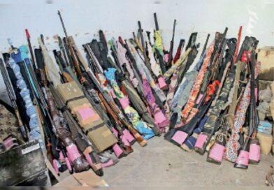 लाइसेंसी हथियार जमा करने की तिथि:3 दिन और जमा होंगे लाइसेंसी हथियार, 240 लाेगाें ने छूट मांगी.