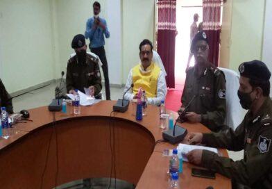 बालाघाट में कानून-व्यवस्था की समीक्षा करने पहुंचे -गृहमंत्री डॉ.मिश्रा,बोले- नक्सलियों को पनपने नहीं देंगे.