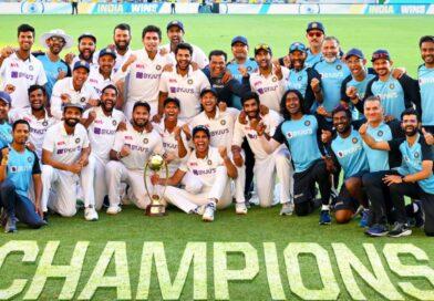 गाबा में भारत ने रचा इतिहास,33 सालों में ब्रिसबेन में टेस्ट जीतने वाली बनी पहली मेहमान टीम