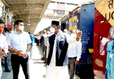 कोरोना वायरस: भोपाल में ट्रेन के 20 कोच में 320 बेड वाला कोविड केयर सेंटर शुरू, ये मरीज़ हो सकेंगे भर्ती