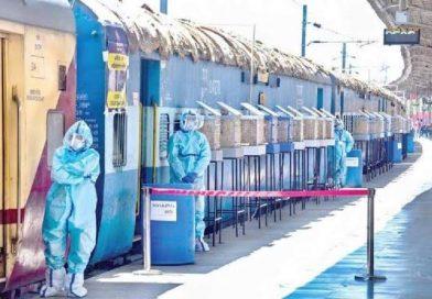 रेलवे ने देशभर में बनाये 64,000 कोविड बेड, दिल्ली, एमपी, यूपी, महाराष्ट्र की डिमांड पूरी!