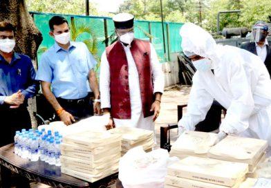 मंत्री विश्वास सारंग ने भोपाल में शुरू की 'स्वस्थ आहार सेवा' योजना, मरीजों को मिलेगा निःशुल्क भोजन