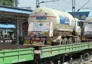 जिंदगी बचाने में लगी ऑक्सीजन एक्सप्रेस, रेलवे ने अब तक 3400  मीट्रिक टन ऑक्सीजन राज्यों को पहुंचाई