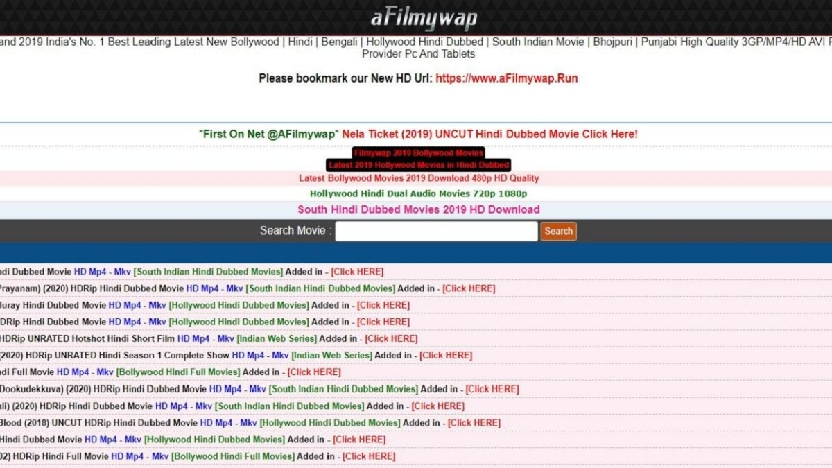 afilmywap 2021 Download Free HD Movies,Latest Bollywood & Hollywood Movies Download