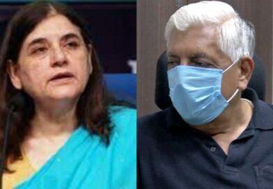 मेनका गांधी पर बीजेपी विधायक ने साधा निशाना, बताया- निहायत ही घटिया महिला