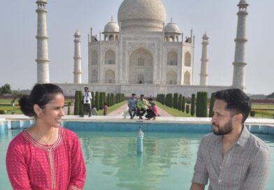 साइना नेहवाल और कश्यप ने ताजमहल का किया दीदार, साझा की बेहतरीन तस्वीरें