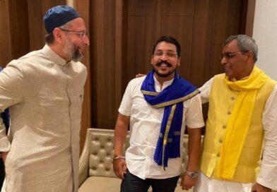 UP चुनाव की तमाम अटकलबाजियों के बीच एक साथ दिखे ओवैसी, राजभर और चंद्रशेखर, क्या हैं इसके सियासी मायने?